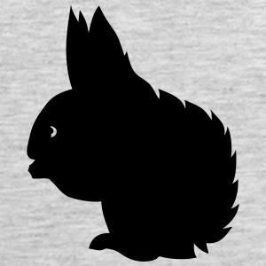 squirrel shadow figure 2 T-Shirts - Men's Premium Tank