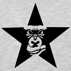 gorilla ferocious animal etoile 6023 T-Shirts - Men's Premium Long Sleeve T-Shirt