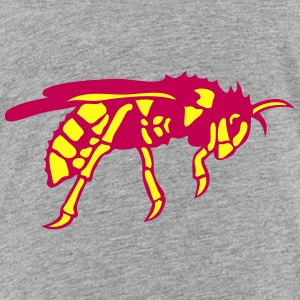 bee hornet wasp 602 Kids' Shirts - Toddler Premium T-Shirt