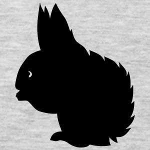 squirrel shadow figure 2 Kids' Shirts - Men's Premium Long Sleeve T-Shirt