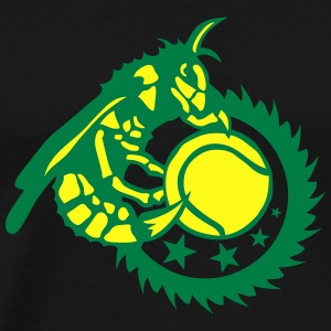 tennis club hornet wasp bee logo 602 Long Sleeve Shirts - Men's Premium T-Shirt