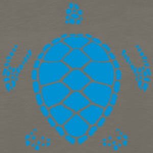 turtle figure shadow 6022 T-Shirts - Men's Premium Long Sleeve T-Shirt
