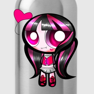 goth girl - Water Bottle