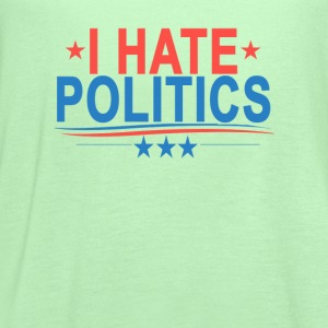 i_hate_politics_ - Women's Flowy Tank Top by Bella