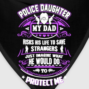 Police Daughter My Dad - Bandana