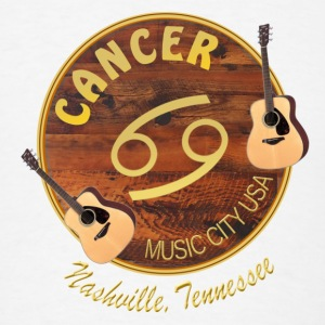 Nashville Zodiac Cancer Bandanas - Men's T-Shirt