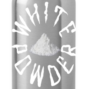 White Powder Hoodies - Water Bottle