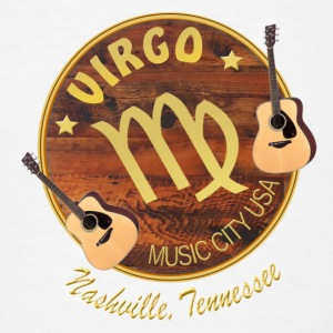 Nashville Zodiac Virgo Bandanas - Men's T-Shirt