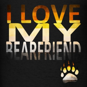 I Love My Bear Hoodies - Men's T-Shirt