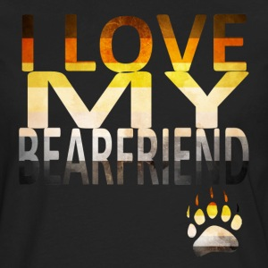 I Love My Bear Hoodies - Men's Premium Long Sleeve T-Shirt