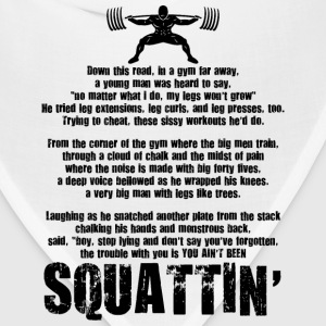Squat Poem T-Shirts - Bandana