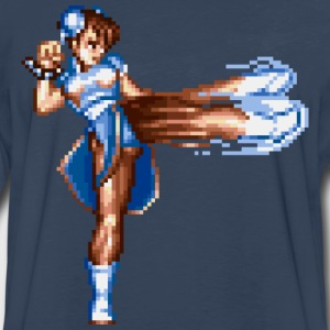 Chun Li  - Men's Premium Long Sleeve T-Shirt