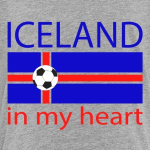 Iceland in my heart Kids' Shirts - Toddler Premium T-Shirt