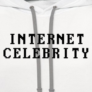 Internet Celebrity Women's T-Shirts - Contrast Hoodie