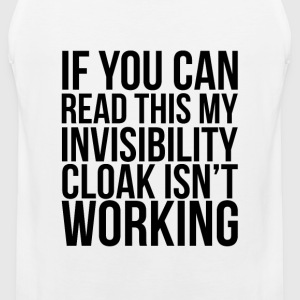Invisibility Cloak Women's T-Shirts - Men's Premium Tank