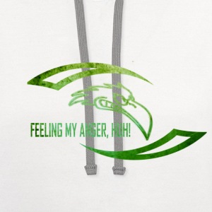 anger T-Shirts - Contrast Hoodie