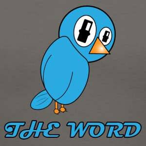 Word of the Bird Tanks - Women's V-Neck T-Shirt