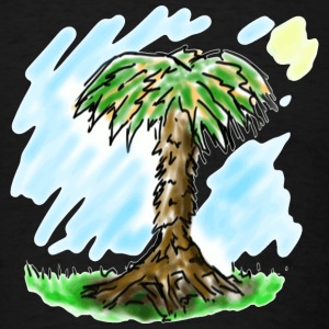 Palm Tree Draw - Men's T-Shirt