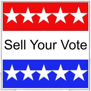 Sell Your Vote  T-Shirts - Bandana