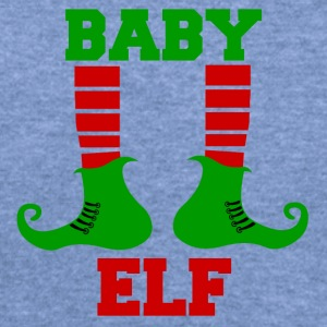 BABY  ELF - Women's Wideneck Sweatshirt
