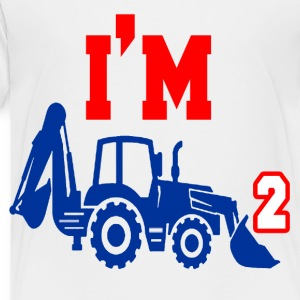 I'M TWO YEARS OLD - Toddler Premium T-Shirt