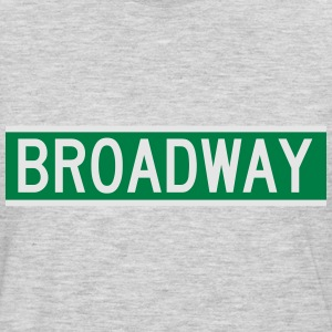 NYC Broadway Sign Women's T-Shirts - Men's Premium Long Sleeve T-Shirt