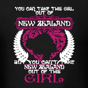 New Zealand Girl - Men's T-Shirt