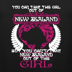 New Zealand Girl - Men's Premium Tank