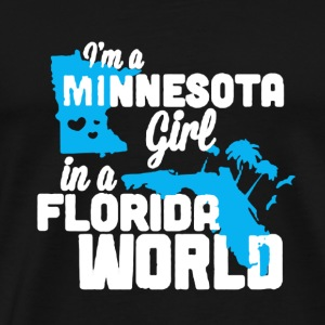 Minnesota Girl Shirt - Men's Premium T-Shirt