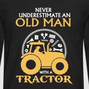 Tractor Shirt - Men's Premium Long Sleeve T-Shirt