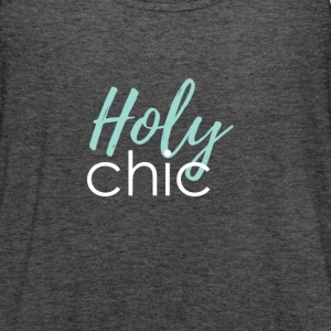 Holy chic - Women's Flowy Tank Top by Bella