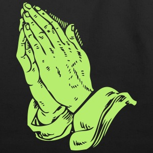 Praying Hands #2 - Eco-Friendly Cotton Tote