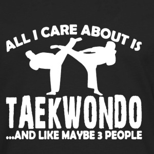 Love Taekwondo Shirt - Men's Premium Long Sleeve T-Shirt