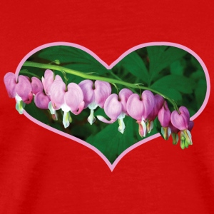 Bleeding Hearts in Heart Caps - Men's Premium T-Shirt
