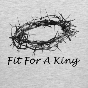 Fit For A King Salvation Crown Passover T-Shirts - Men's Premium Tank