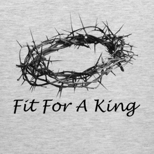 Fit For A King Salvation Crown Passover Women's T-Shirts - Men's Premium Tank