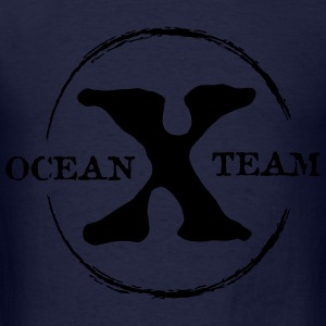 Ocean x Team Black Zip Hoodies & Jackets - Men's T-Shirt