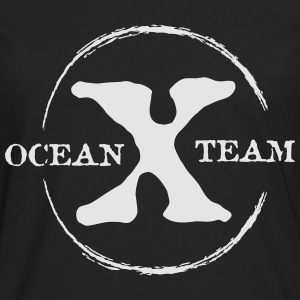 Ocean x Team White Kids' Shirts - Men's Premium Long Sleeve T-Shirt