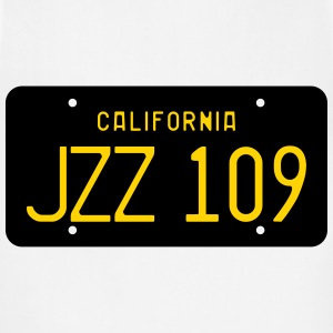 Retro 1963 California JZZ 109 License Plate Women' - Adjustable Apron
