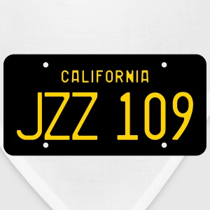Retro 1963 California JZZ 109 License Plate Women' - Bandana