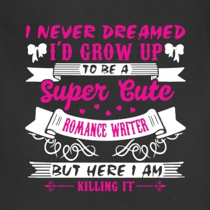 Romance Writer Shirt - Adjustable Apron
