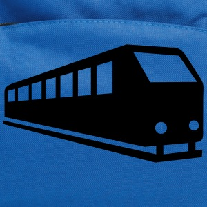 Train T-Shirts - Computer Backpack