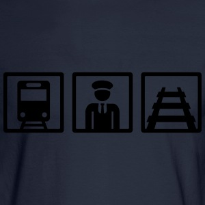 Train driver T-Shirts - Men's Long Sleeve T-Shirt
