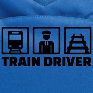 Train driver Kids' Shirts - Computer Backpack