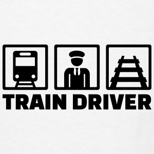 Train driver Mugs & Drinkware - Men's T-Shirt