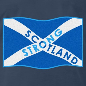SCOTLAND STRONG BI-COLOUR - Men's Premium T-Shirt