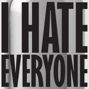 I Hate Everyone T-Shirts - Water Bottle