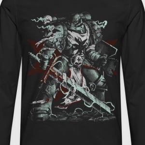 Black Templars - Men's Premium Long Sleeve T-Shirt