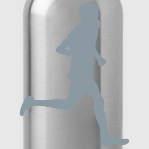 marathon sports 1 Kids' Shirts - Water Bottle