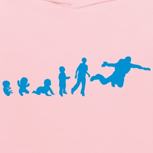 jumping evolution human sports base T-Shirts - Kids' Hoodie